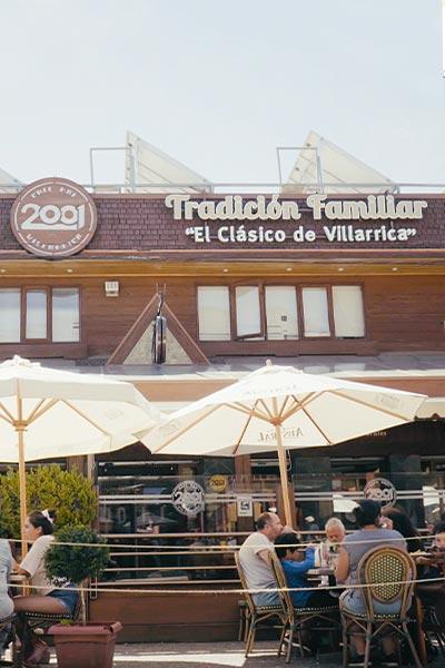 cafe 2001 villarica fachada exterior geandce